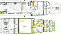 Superyacht MALIBU - Layout 2